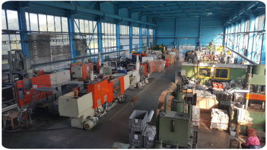 Molding factory in Bulgarian plant